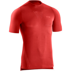 cep Run Ultralight Kortærmet skjorte Herrer, rød